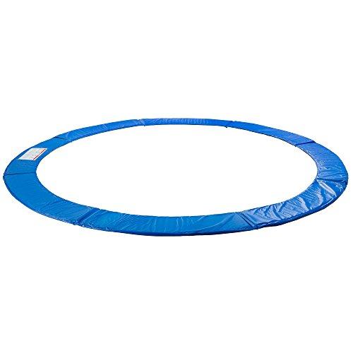 Arebos Trampolin Randabdeckung / 183, 244, 305, 366, 396, 457 oder 487 cm/blau (blau, 305 cm)