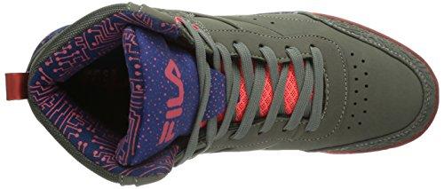 Fila - Bounce Mid Wmn, Sneaker alte Donna Grigio (Grau (Castlerock))