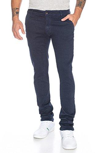 Herren Chino Hose Slim Fit - mehrere Farben ID480 Blau