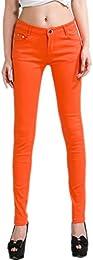 Amazon.co.uk: Orange - Jeans / Women: Clothing