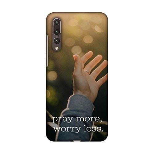 Amzer Slim Fit Handarbeit Designer Printed Snap On Hard Shell Schutzhülle Back Cover mit Bildschirm Reinigungs-Set Haut für Huawei P20Pro–Koran 3HD Farbe, Ultra Light Rückseite Fall