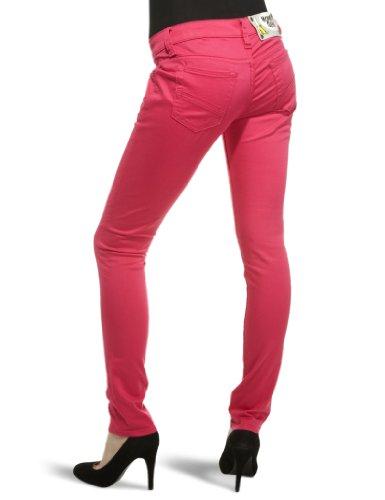 Monkee Genes Damen Skinny, Jeans, GR. 28W/32L (Herstellergröße: 28W x 32L), Rosa - 2
