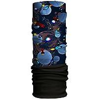 Han® Los niños de Forro Polar Bufanda, Infantil, Color Space 3D/Black, tamaño Talla única