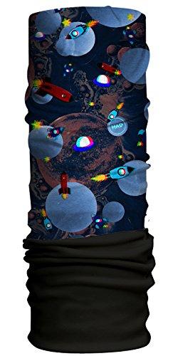 HAD Kids Fleece Funktionstuch, Space 3D-Fleece: Black, one size