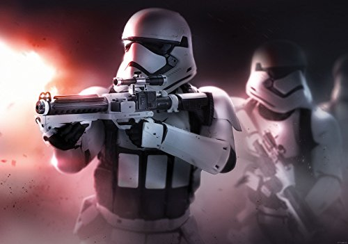 Forza Ringer Star Wars Consalnet 2745P4 Massacra di VII, 2 pezzi, Murale Poster-Wallpaper (254 x 184 cm