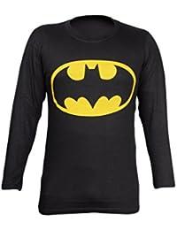 Krystle Men's Cotton Batman Full Sleeve Round Neck