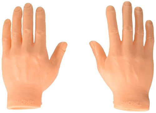 Set Of Ten Finger Hands Finger Puppets by Accoutrements