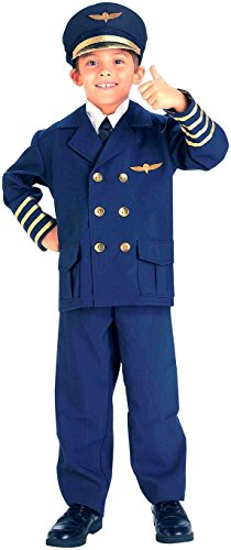 Forum Neuheiten Inc 31167 Airline Pilot Kinderkost-m Gr--e Medium ()