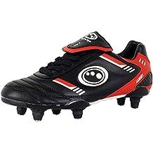 Optimum Tribal Junior Si Botas de fútbol Encaje Hasta 6Tacos Zapatos Fútbol Calzado multicolor multicolor Talla:4 cWzaA