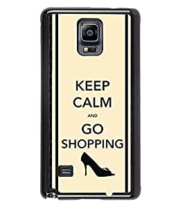 Fuson 2D Printed Quotes Designer back case cover for Samsung Galaxy Note 4 - D4389