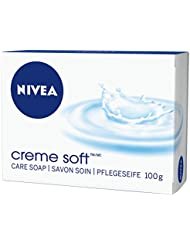 NIVEA Creme Soft Handseife im 6er Pack (6 x 100 g), reinigt und spendet Feuchtigkeit, für alle Hauttypen, Seife als Schutz und für hygienisch saubere Hände
