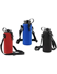 Generic 1000ML Water Bottle Carrier Insulated Cover Bag Holder Strap Pouch- Parent