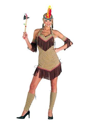 Comanche Kostüm - Chiber - Comanche Indianerin Kostüm Damen