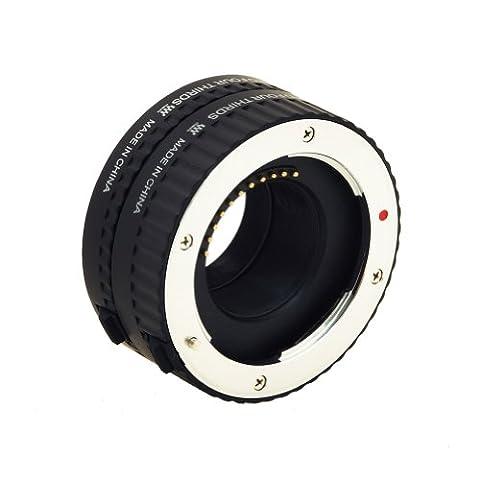 Macro Bague-allonge bague/tube d'adaptation automatiques professionnelles (2 pièces : 10mm et 16mm) pour gros plans pour Micro 43, pour Olympus E- P1 , E-P2 , E-P3 , E-PL1 , E-PL2 , E- PL3 , E-PM1 caméras etc série Pen, Pour Panasonic G1 , G2 , G3 , G10 , GF1 , GF2 , GF3 , GH1 , GH2 etc.