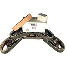 """3/4""""x12"""" Ken Onion Cinturón Pack- 120, 400, 600, 800, 1000& Cinturón de cuero w compuesto"""