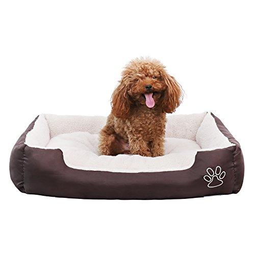 Songmics Cómodo Casa para mascotas, Cama para perros Perrera Gato Del Perro De Perrito Sofa House Bed S 60 x 48 cm PGW02Z