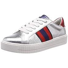 MARCO TOZZI 2-2-23719-22, Sneakers Basses Femme, Argenté (Silver Comb 948), 41 EU