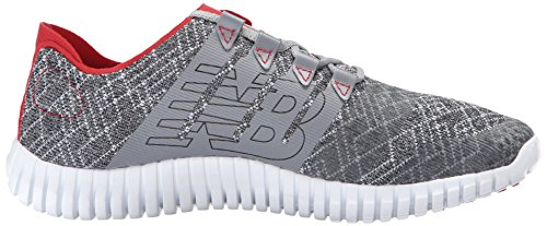 New Balance M730lg3, Chaussures de Running Compétition Homme Grey (Steel with Chinese Red)