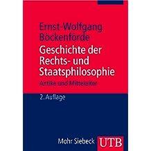 Geschichte der Rechts- und Staatsphilosophie: Antike und Mittelalter (Utb M, Band 2270)