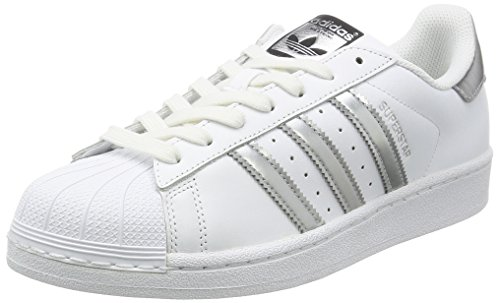 adidas Originals Superstar, Zapatillas Unisex Adulto, Blanco (Footwear  White Silver Metallic  1d07191bb7