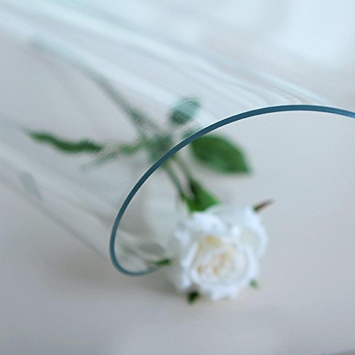 Imperméable nappe Nappe givrée plus épurée Matière en PVC mousse en verre Matière étanche en mousse imperméable à l'eau Manteau isolant Manteau rectangulaire carré (mat) (taille facultative) pour dîner