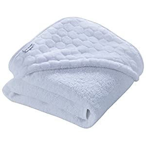 Clair de Lune Marshmallow Hooded Towel (White)