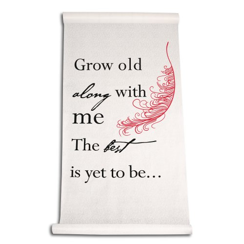 ing Aisle Grow Old with Me Runner rot ()