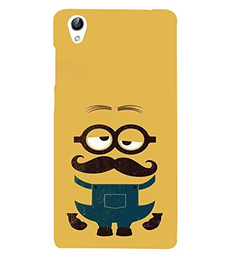 printtech Minions Back Case Cover for Vivo Y51 / Y51L