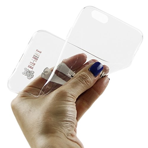 Phone case & Hülle Für IPhone 6 / 6s, Creative Character Pattern Transparent TPU Schutzhülle ( SKU : S-IP6G-7101M ) S-IP6G-7101L