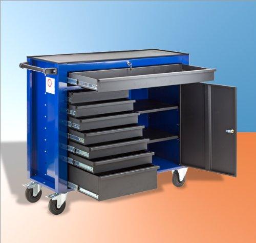 DEMA Werkstattwagen DW8ST blau / schwarz - 2
