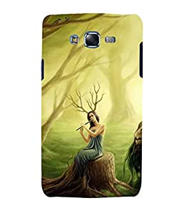 Fuson Designer Back Case Cover for Samsung Galaxy J7 J700F (2015) :: Samsung Galaxy J7 Duos (Old Model) :: Samsung Galaxy J7 J700M J700H (Beautiful Girl Stunning Pretty Lovely Cute)