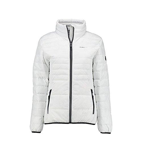 KJELVIK Warina Damen Jacke Winterjacke Übergangsjacke Skijacke weiß (40)