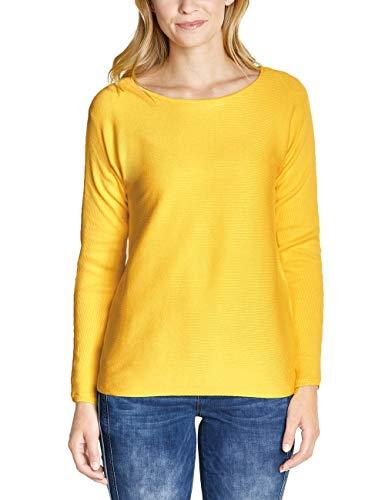 Street One Damen 300949 Blanka Pullover, Gelb (Creamy Lemon 11848), (Herstellergröße:40)