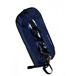 Vollautomatische Rettungsweste Schwimmweste in dunkelblau 150 N mit Lifebelt