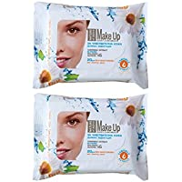 Make Up Cleaning Wipes with Camomile Extract for Sensitive Skin Without Alcohol 2 x 20 pcs