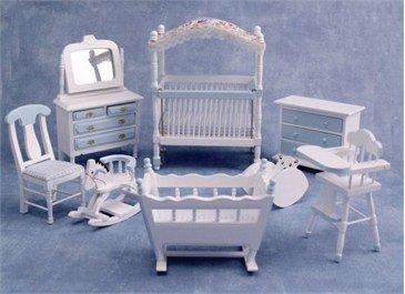 Deluxe Blue Cot Nursery Set (Doppel-einheit-box)