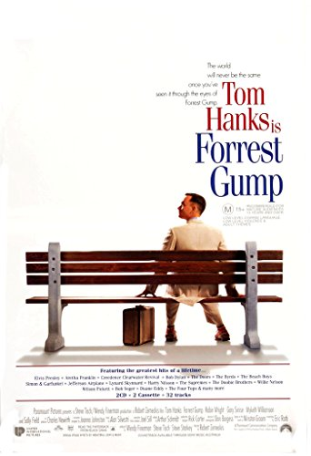 Forrest Gump, Tom Hanks, Film Film Poster in Größen, Papier, a1 - Coole Film Poster