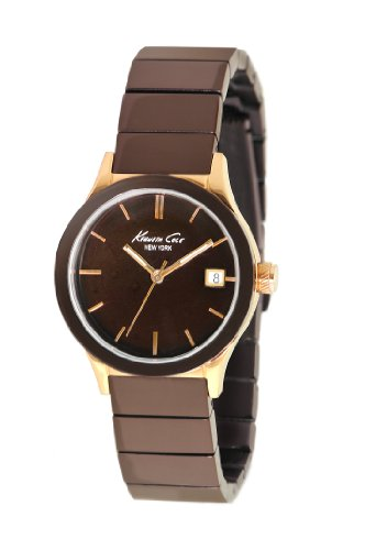 kenneth-cole-womens-analogue-watch-with-brown-dial-analogue-display-and-stainless-steel-plated-brown