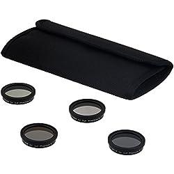 Fotodiox filtro de cuatro piezas Kit para DJI Phantom 3Drone