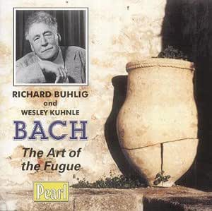 Bach: Art of the Fugue [Arranged For Two Pianos]