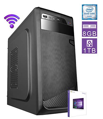 PC DESKTOP computer fisso • LICENZA WINDOWS 10/7 PRO (in Prime solo 10 PRO) • assemblato completo Intel QUAD-CORE fino a 2.3 GHZ • RAM DDR3 8GB • HDD 1TB • WI-FI • MASTERIZZATORE • DILC GREEN HIGH
