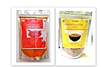 Magic Red Chilli Powder+ Roasted Soyanuts (Pack of 200g Each)