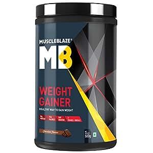 MuscleBlaze Weight Gainer - 500 g (Chocolate)