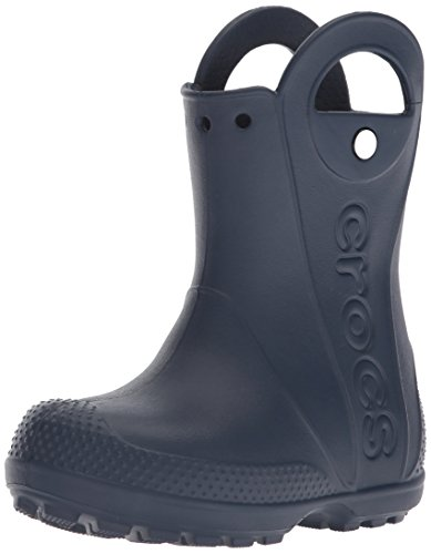 Crocs Handle It Rain Boot, Unisex - Kinder Gummistiefel, Blau (Navy), 24/25 EU
