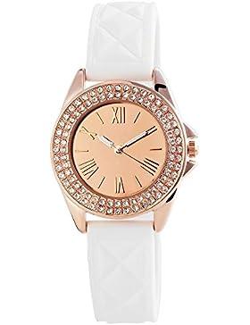 Excellanc Damen-Armbanduhr XS Analog Quarz verschiedene Materialien 195532500003