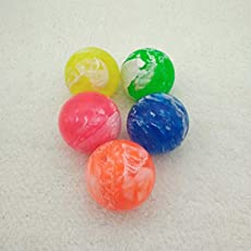 Rubber Bouncing Balls Bouncy Clouds Colorful Jumping Ball for Child Juggling Pinball Toy (Set of 6)