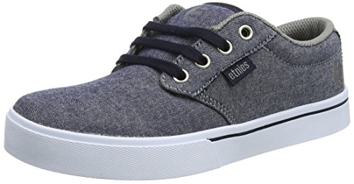 Etnies Kids Jameson 2 Eco, Scarpe da Skateboard Unisex – Bambini Blue (Navy/Grey/White)
