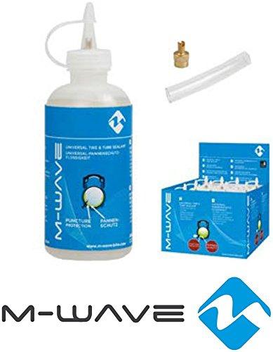 Wave Flüssigkeit (M-Wave Flüssigkeit-250 ml Pannenschutz, Transparent, One Size)