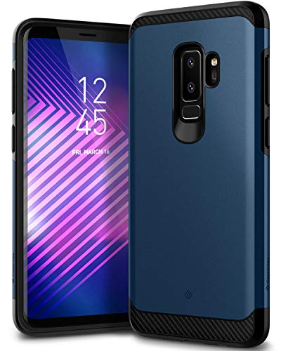 Caseology Legion Series Case Designed for Galaxy S9 Plus with Heavy Duty Protection and Slim Protective Dual Layer for Samsung Galaxy S9 Plus (2018) - Blue Design-protector Hard Case