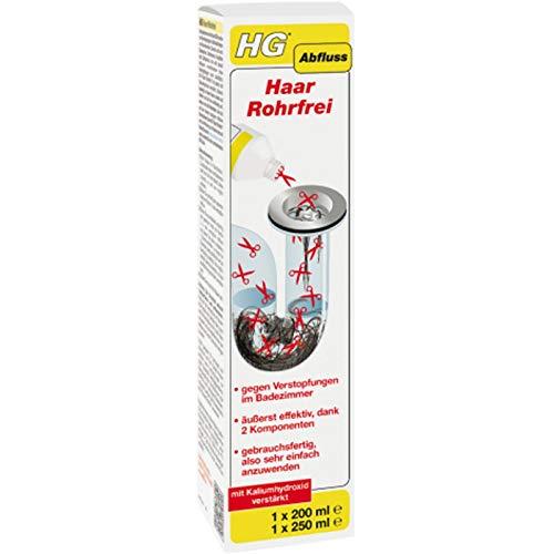 HG Haar Rohrfrei 2 Komponenten 200ml+250ml Abflussreiniger